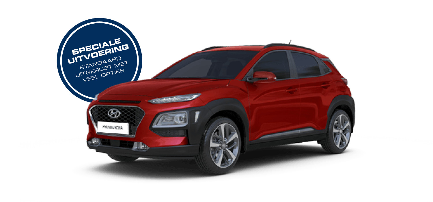 Private lease Hyundai Kona | Velserbeek Private Lease